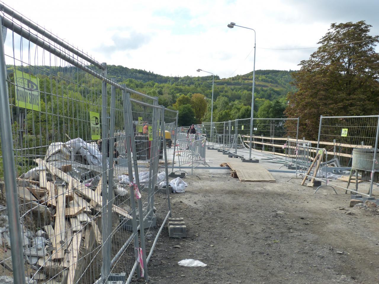 Uzávěrka mostu na Zavadilku skončí 15. října 1