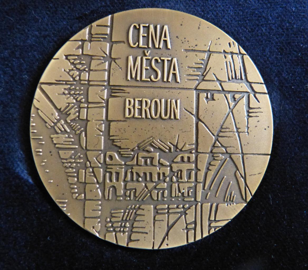 Ceny města Beroun pro Marii Holečkovou a Karla Žáka 1